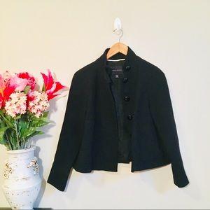 BANANA REPUBLIC Military Black Wool Jacket